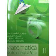 Matematica pentru clasa a VI-a, semestrul II (Clubul Matematicienilor) 2015- 2016