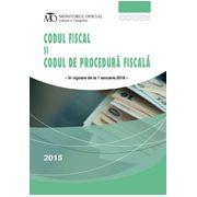 Codul fiscal și codul de procedură fiscală - Septembrie 2015