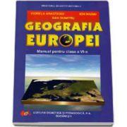 Geografia Europei manual pentru clasa a VI-a