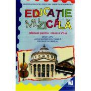 Educatie Muzicala, Manual clasa a 7 -a Jean Lupu, Lucia Marinescu Danila