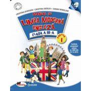 Limba moderna- engleza. Manual pentru clasa a III-a, partea I+partea a II-a (contine editie digitala)