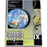 Geografie, manual pentru clasa a IX-a (Ioan Donisa)