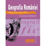 GEOGRAFIA ROMANIEI - Manual pentru clasa a VIII-a