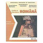 Limba si literatura romana. Manual cl a XI-a