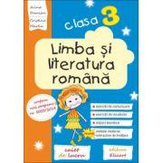 Limba și literatura română. Clasa a III-a Caiet de lucru. Exerciții de comunicare, de vocabular, noțiuni teoretice