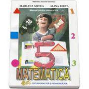 Matematica manual pentru clasa a V-a (Alina Birta)