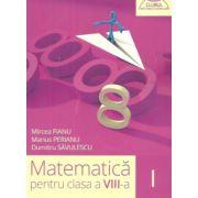 Matematica pentru clasa a VIII-a, semestrul I (Clubul Matematicienilor) 2015- 2016