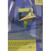 Matematica pentru clasa a VII-a, semestrul II. Clubul matematicienilor 2015- 2016