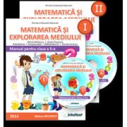 Matematică şi explorarea mediului. Manual pentru clasa a II-a