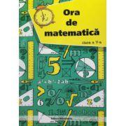 Ora de matematica, clasa a V-a
