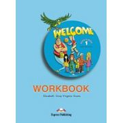 Welcome 1 AB workbook. Caiet pentru clasa a III-a
