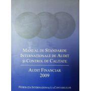 manual de standarde internationale de audit si control de calitate. audit financiar 2009