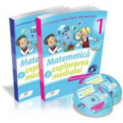 MATEMATICĂ ŞI EXPLORAREA MEDIULUI - Manual pentru clasa I (partea I şi partea a II-a)