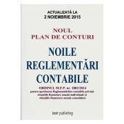 Noile Reglementari Contabile 2015 / Noul Plan de Conturi 2015. Actualizata 2 Noiembrie 2015