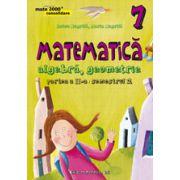 MATEMATICA. ALGEBRA, GEOMETRIE. CLASA A VII-A. CONSOLIDARE. PARTEA A II-A, SEMESTRUL 2 - 2015- 2016