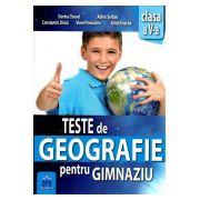 Teste de Geografie pentru Gimnaziu (Clasa a V-a)