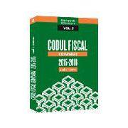 Codul Fiscal Comparat 2015-2016 (cod+norme) FEBRUARIE 2016 - 3 Volume