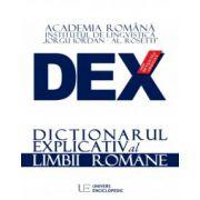DEX - DICTIONARUL EXPLICATIV AL LIMBII ROMANE – EDITIE NOUA 2016