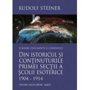 Din istoricul si continuturile primei sectii a scolii esoterice 1904 – 1914