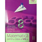 Matematica pentru clasa a VIII-a, semestrul II (Clubul Matematicienilor) 2015- 2016