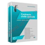 Contracte civile speciale Cuprins: Elaborare, comentarii, modele