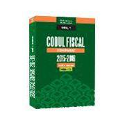 Codul Fiscal Comparat 2015-2016 (cod+norme) Ed. a 2-a. Aprilie 2016- 3 Volume