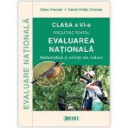 Evaluarea nationala 2016 la matematica si stiinte ale naturii, clasa a VI-a - Elena Crocnan