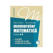 Memorator. Matematică pentru clasele 5-8. Algebră. Geometrie plană. Geometrie în spaţiu.