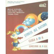 Stiinte ale naturii clasa a III-a semestrul II