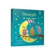 Povesti de somn usor - Coperta lumineaza in intuneric si vegheaza somnul puiului tau!