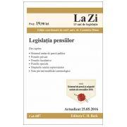 Legislatia Pensiilor - Actualizare 25 Mai 2016