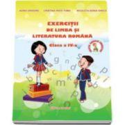 Exercitii de Limba si Literatura Romana pentru clasa a IV-a Adina Grigore