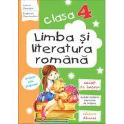 Limba şi literatura română. Clasa a IV-a Caiet de lucru. Lecturi, exerciţii de comunicare, de vocabular, noţiuni teoretice