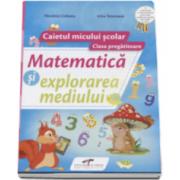 Matematica si explorarea mediului caietul micului scolar pentru clasa pregatitoare Nicoleta Ciobanu