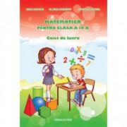 Matematică pentru clasa a IV-a - Caiet de lucru - Adina Grigore