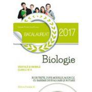 Bacalaureat Biologie vegetala si animala (clasele IX–X). 35 de teste dupaƒ modelul M. E. N. C. S cu bareme de evaluare si notare 2017