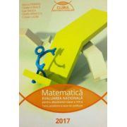 Evaluarea nationala Matematica 2017 - pentru absolventii clasei a VIII-a (Clubul matematicienilor) - Marius Perianu