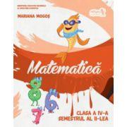 Matematică manual Clasa a IV-a Semestrul al II-lea (+CD)