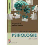 Metode de cercetare in psihologie