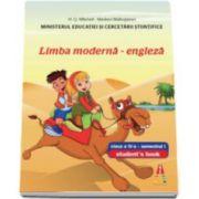 Limba moderna engleza, manual pentru clasa a IV-a, semestrul I + semestrul II- Contine editia digitala (Smart Junior 4)