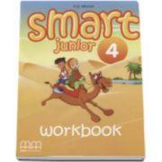 Smart Junior 4 Workbook - Limba moderna engleza, caietul elevului pentru clasa a IV-a (Contine CD)