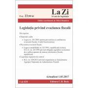 Legislatia privind evaziunea fiscala. Actualizat la 1. 03. 2017
