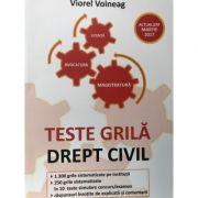 Teste grila, Drept civil - Actualizat martie 2017- VIRGIL VOINEAG