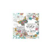 Trăiește-ți viața cu un scop. Carte de colorat motivațională pentru adulți Sfaturi înțelepte și încurajări de la Crystal Paine, The Money-Saving Mom.