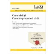 Codul civil si Codul de procedura civila. Actualizat la 2. 05. 2017