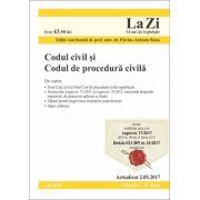 Codul civil si Codul de procedura civila. Actualizat la 2. 05. 2017