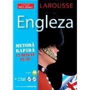 Larousse Engleza - Metodă rapidă. Carte + 2xCD
