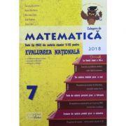 Evaluare nationala matematica 2018 - La finalul clasei a VII-a