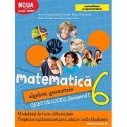 Matematica 2017 - 2018 Consolidare - Algebra, Geometrie - Clasa A VI-A - Caiet de lucru - Semestrul I ( Mate 2000)