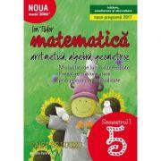 Matematica 2017 - 2018 - Initiere - Algebra, Geometrie - Clasa A V-A - Caiet de lucru - Semestrul I ( Noua Programa 2017- 2018) Mate 2000